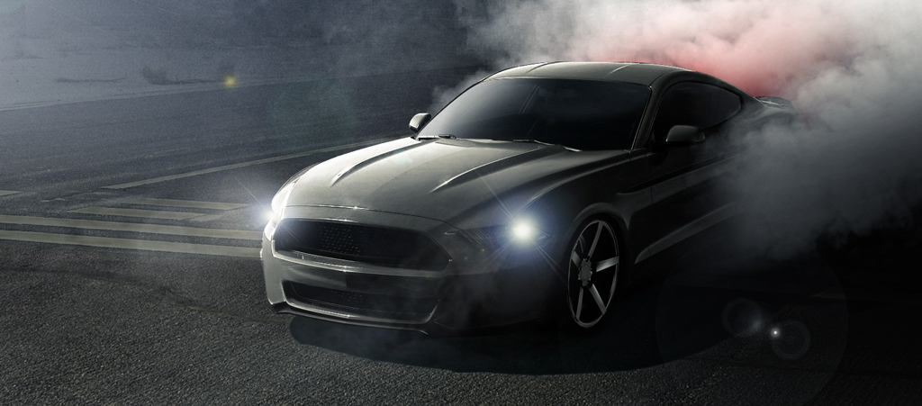 It's Official: Ford Releases 2015 Mustang Horsepower Ratings ...mustang burnout