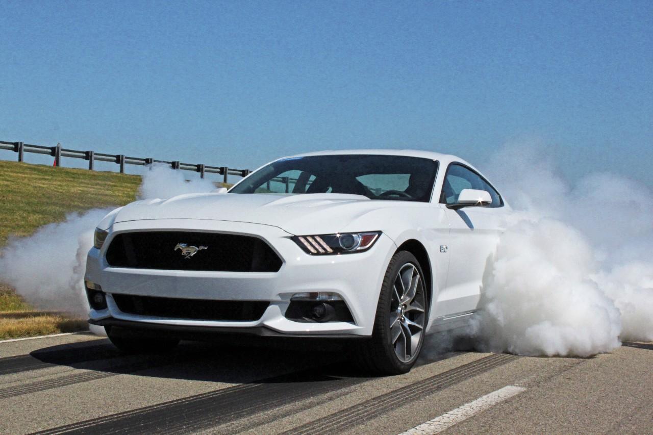 2015 mustang burnout 435 horsepower