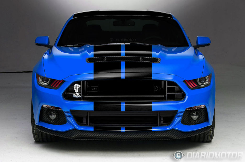Rumor: 2015 Shelby GT500 to Have More HP Than the Challenger Hellcat ...