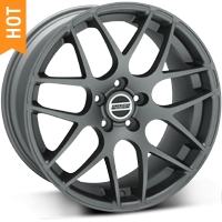AMR Charcoal Mustang Wheels