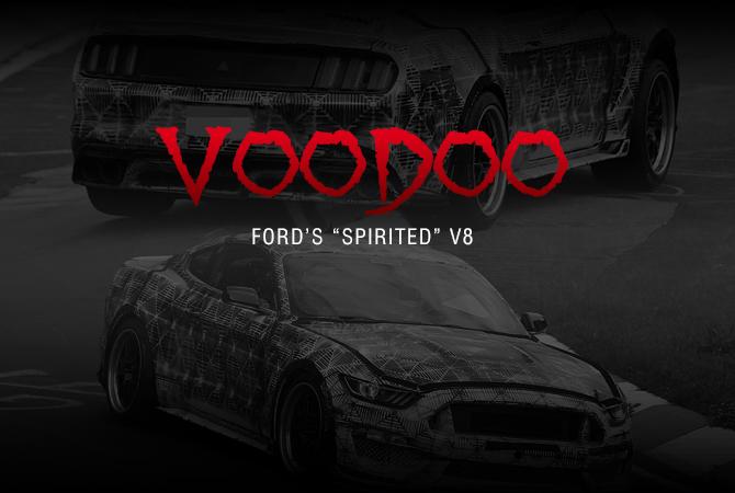 Mustang GT350 Voodoo Engine