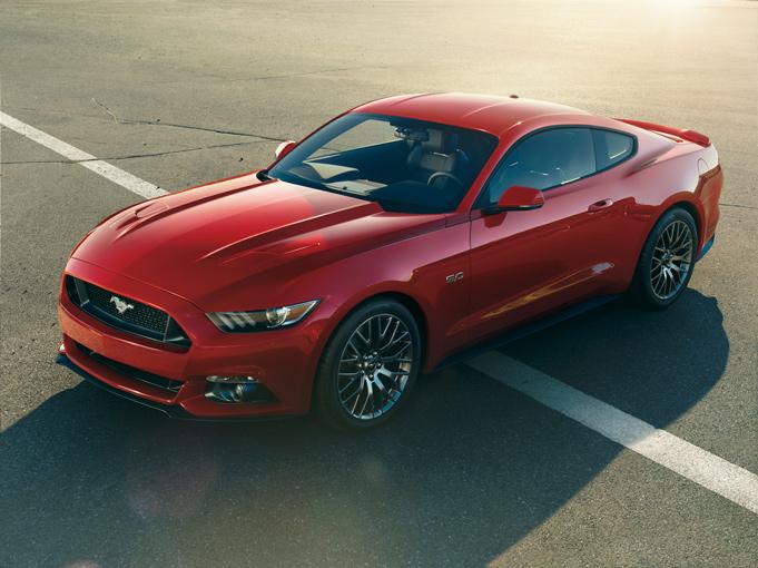 2015 S550 Mustang - China