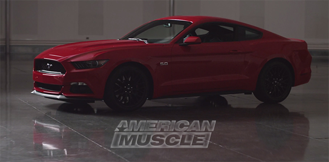 2015 Mustang Factory