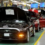 2015 Ford Mustang Assembly Line