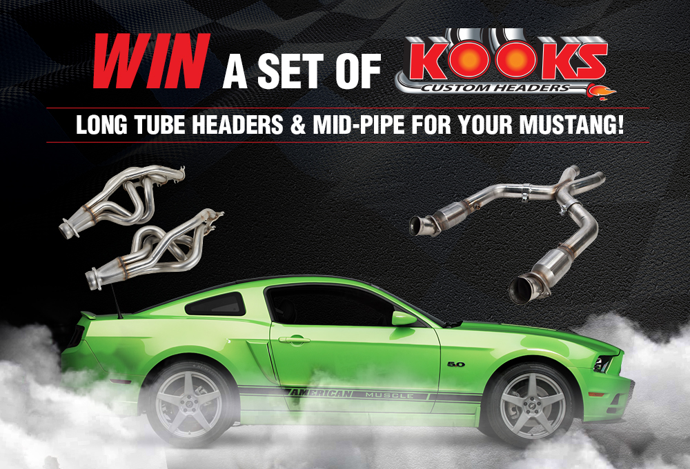 Kooks Exhaust System Mustang Give Away