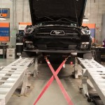 2015 Mustang GT Strapped to the Dyno
