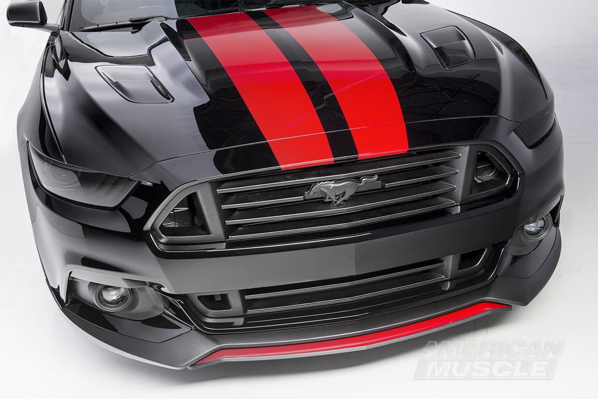 2015 MMD V Series Mustang Stripes