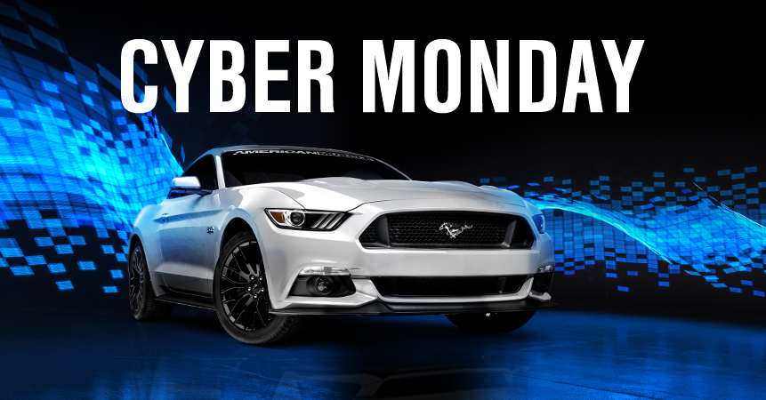 AmericanMuscle's Cyber Monday Sale