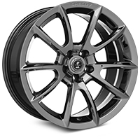 Charcoal Shelby Alcoa Style Mustang Wheel