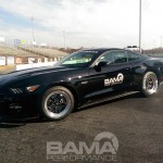Bama 9 second pass in a 2015 Mustang GT
