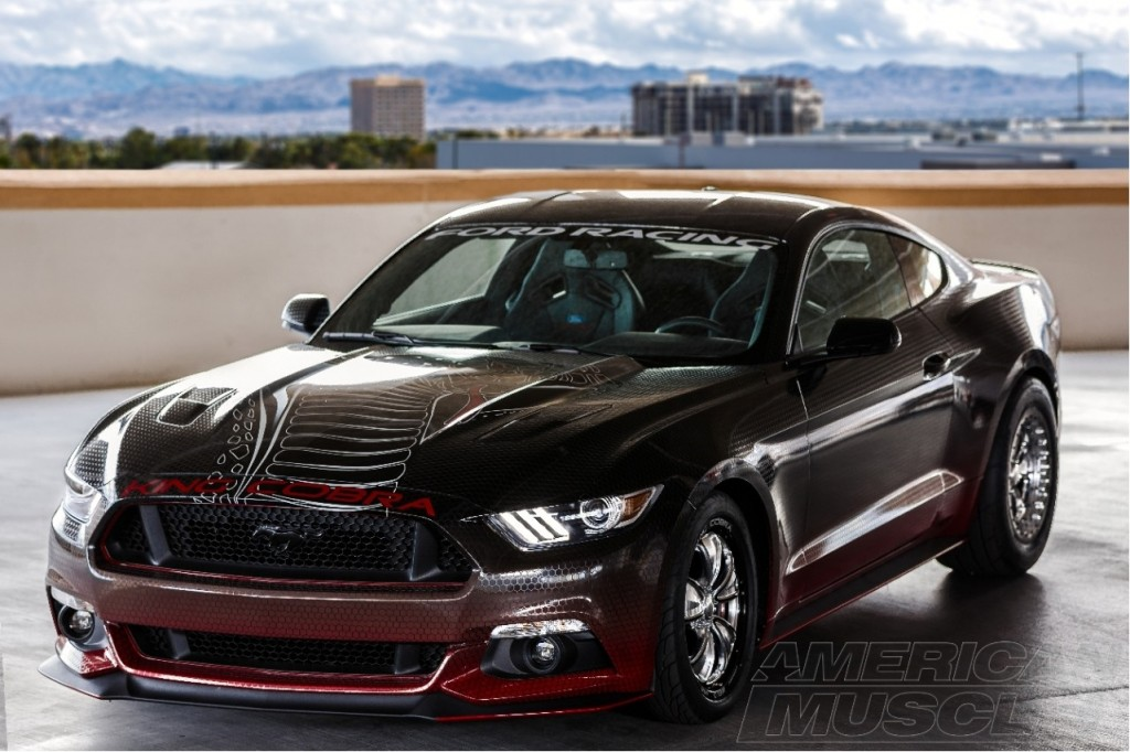 The 2015 Mustang King Cobra