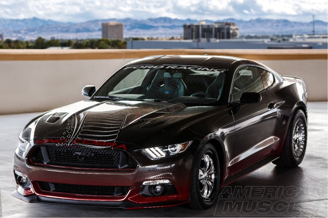 The king is back ford announces insane 10 second 2015 - Mustang cobra ...