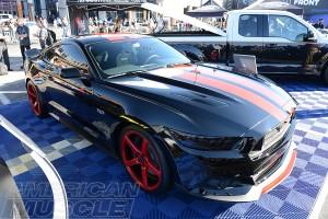 2015 MMD V Series Mustang at SEMA