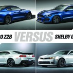 2016 Shelby GT350R vs Z/28