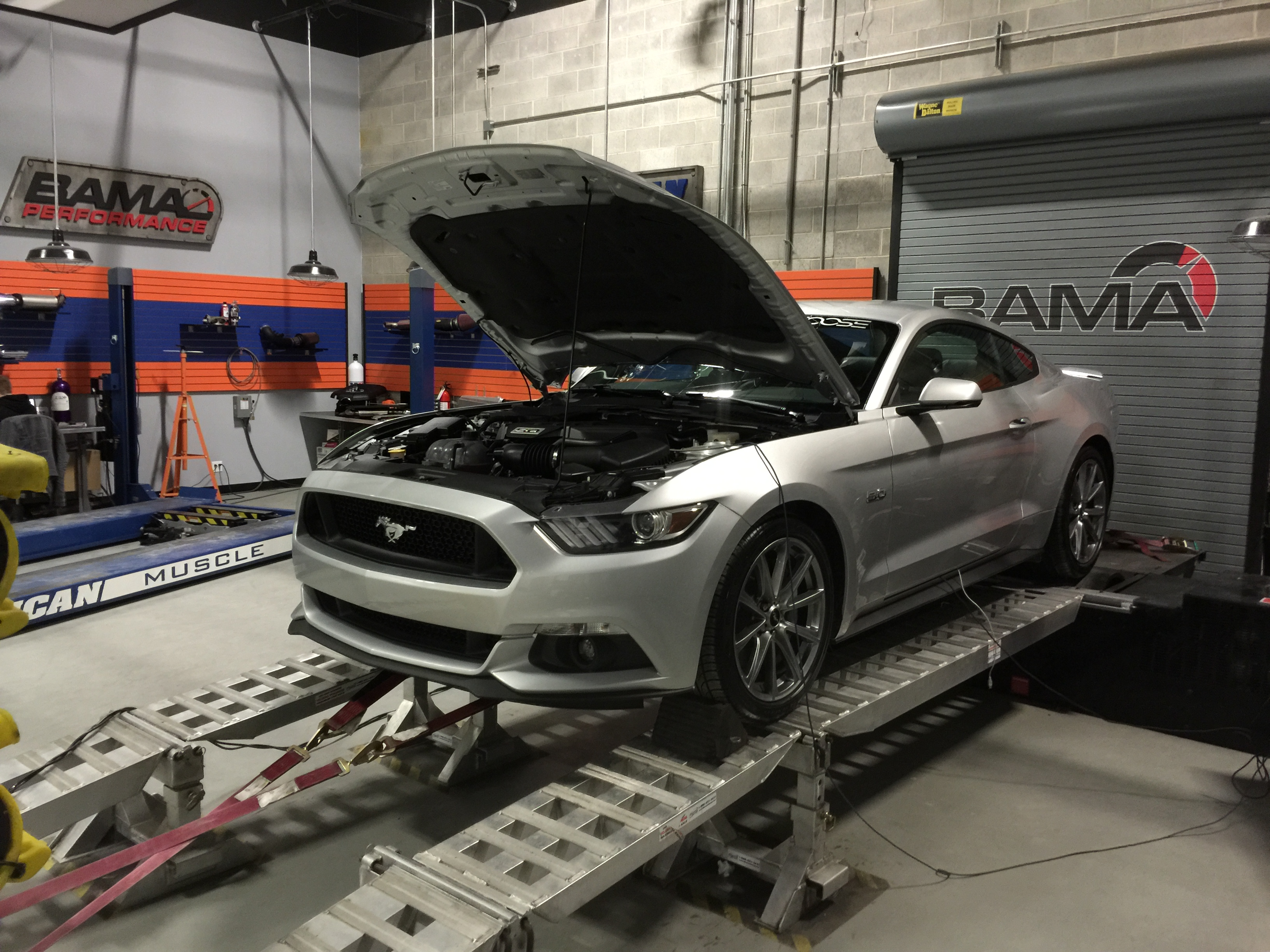 Tuning an Auto 2015 Mustang GT with Bama Performance V2 Tunes