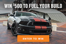 Enter the AmericanMuscle.com Sweepstakes