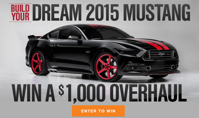 Build your 2015 Mustang
