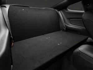 2015 Mustang rear seat delete