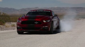 2015 Shelby Super Snake Burnout