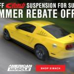 Eibach Summer Rebate Mustang