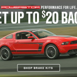 Power Stop Mustang Brake Rebate