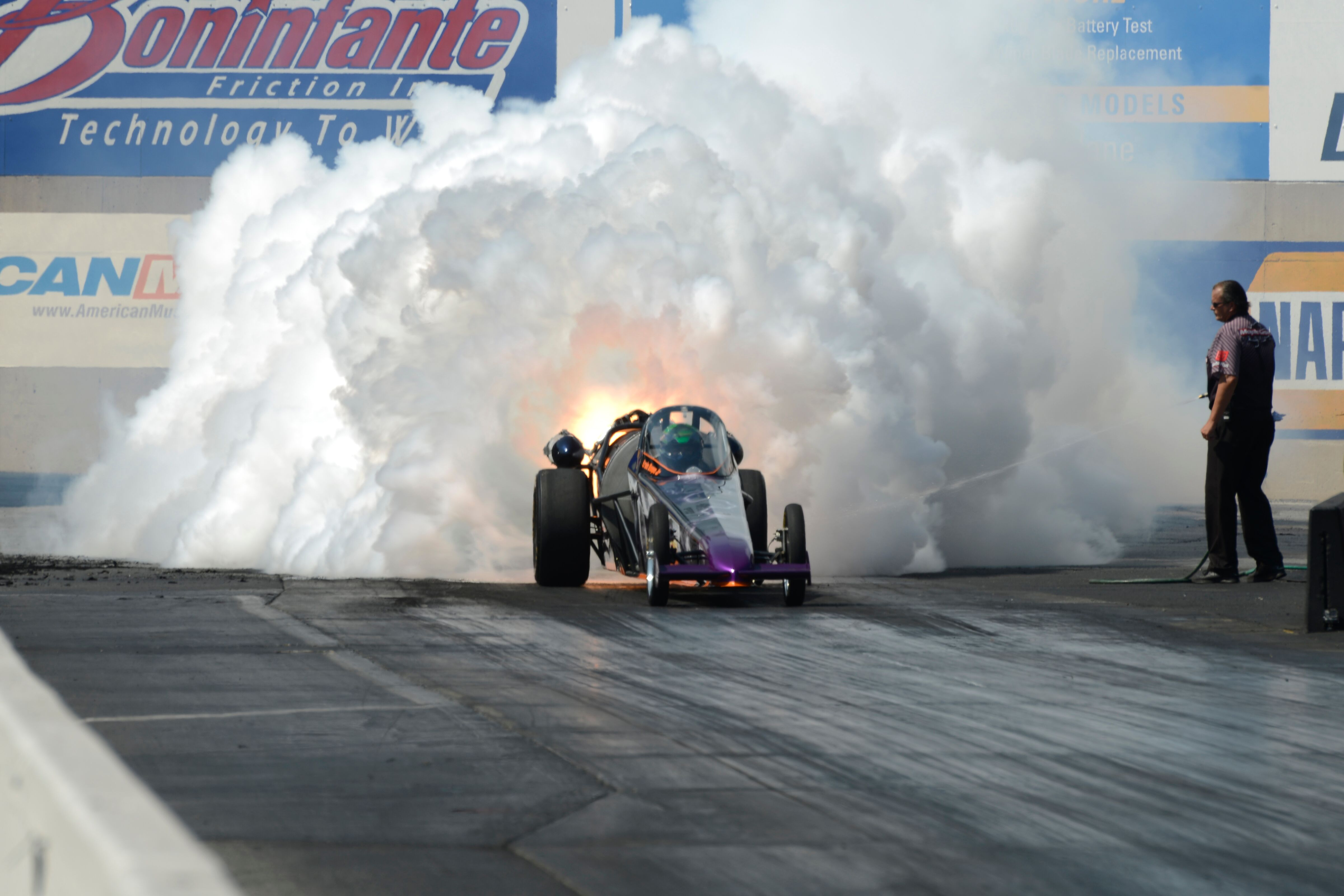 Am2015 Jet Car Drag Racing