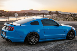 2013 Mustang GT on Air Suspension
