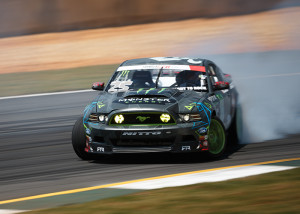 Vaughn Gittin Jr Drifting his 2013 Mustang RTR