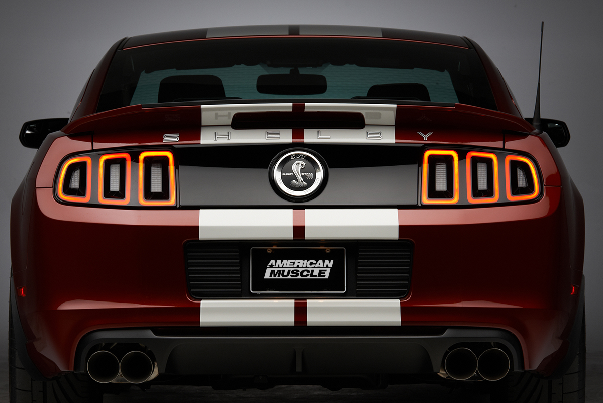 A texas twist on the mustang 2014 shelby gt500 rear shot