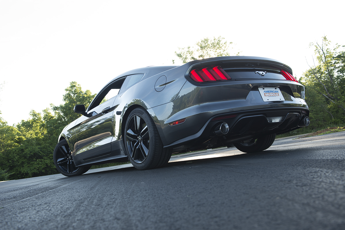 2015 EcoBoost Mustang Rear Shot