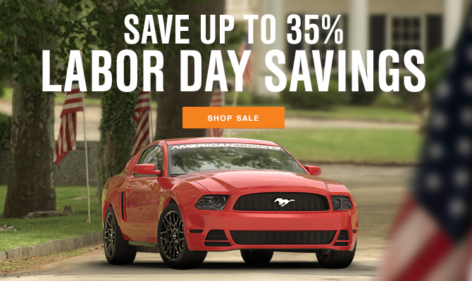 AmericanMuscle Labor Day Sale