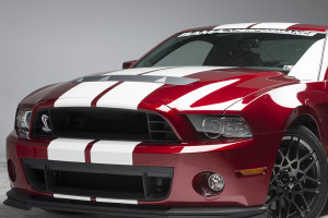 Front 3/4 Shelby GT500
