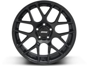 AMR Black Mustang Wheels