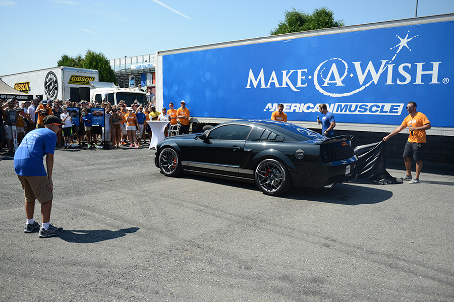 A Make-A-Wish Dream Come True: Austin\'s Mustang Overhaul ...