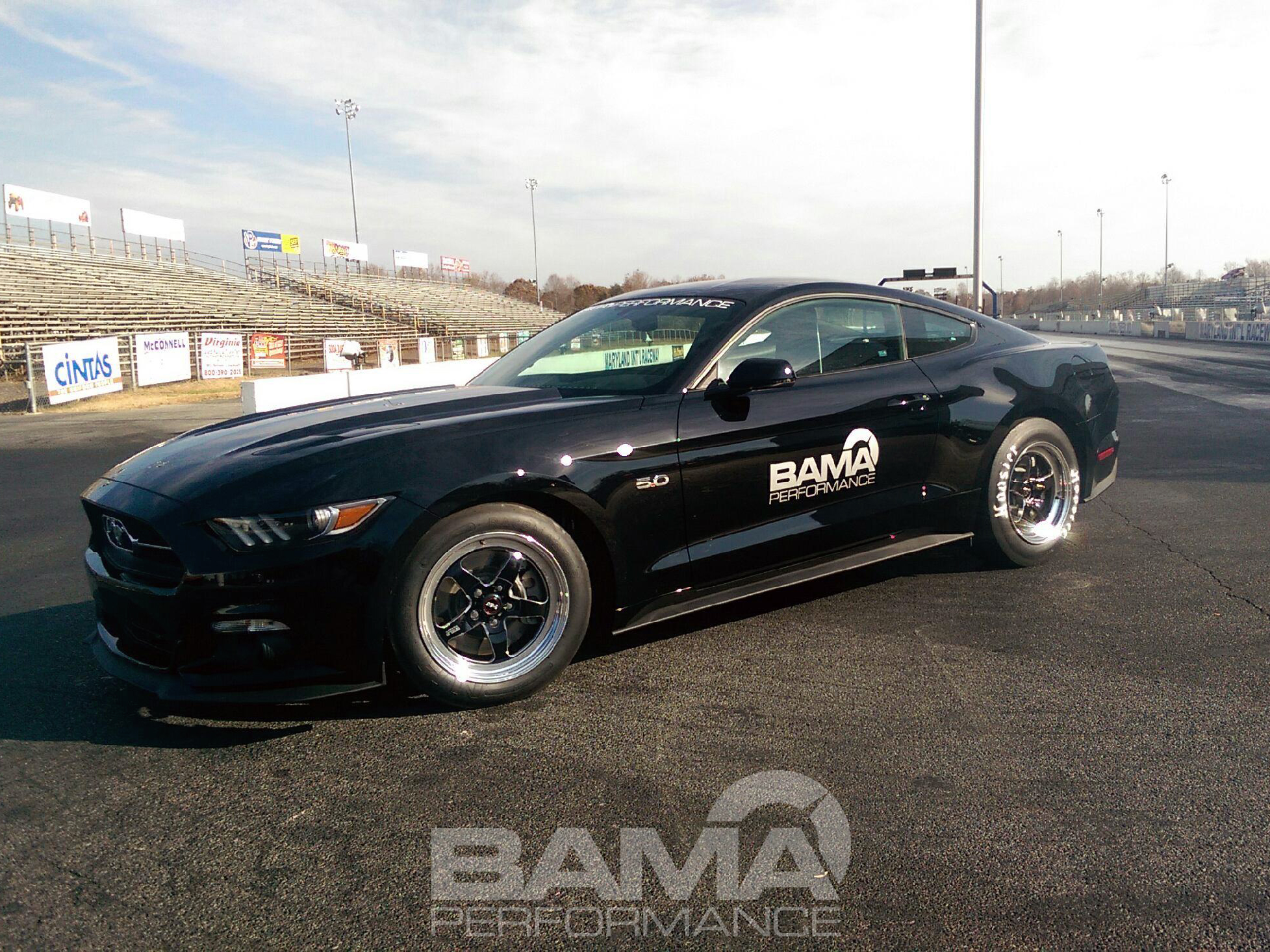 Weight Bama Performance S 9 Second 2017 Mustang Record Reduction